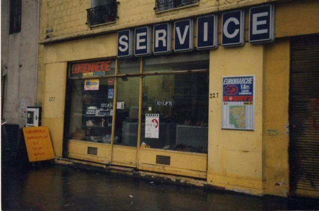 Ancienne façade qui a été transformée en 1er magasin Le Fournil de Paris - be Davoud à Paris